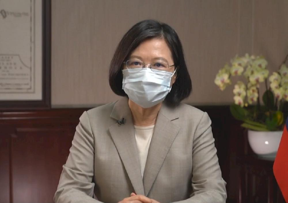 蔡英文/總統/疫苗/台灣