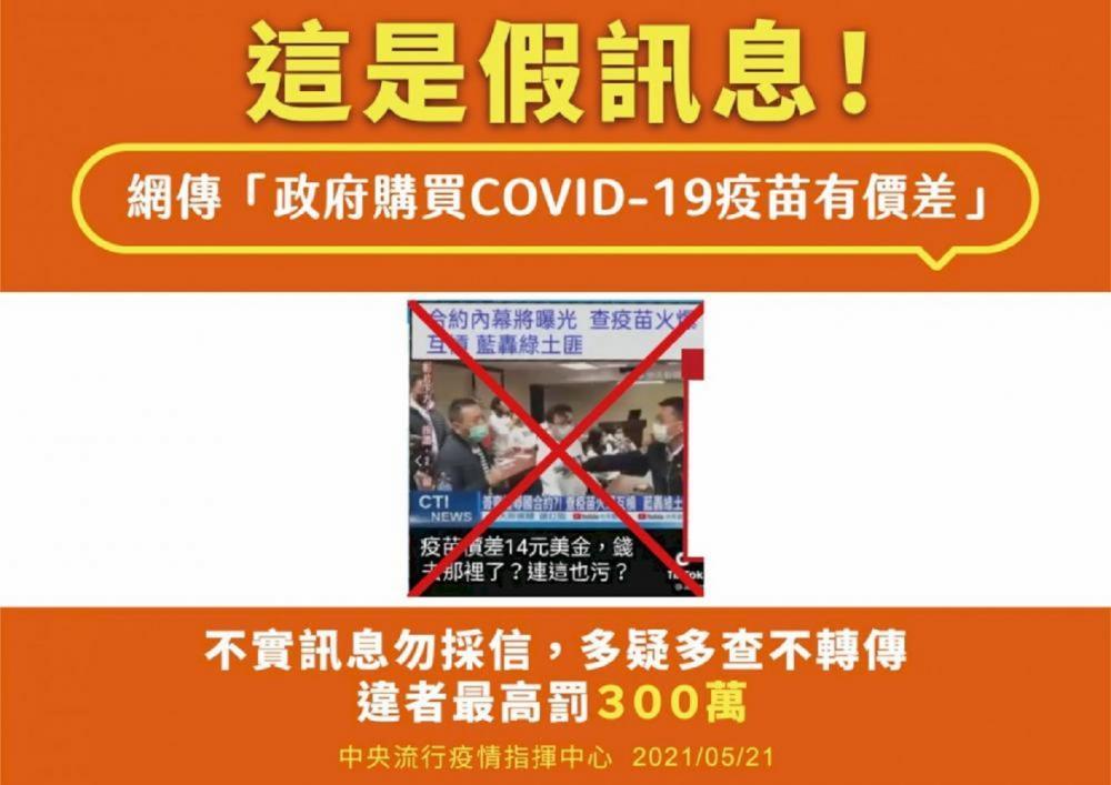 假訊息/疫苗接種/台灣