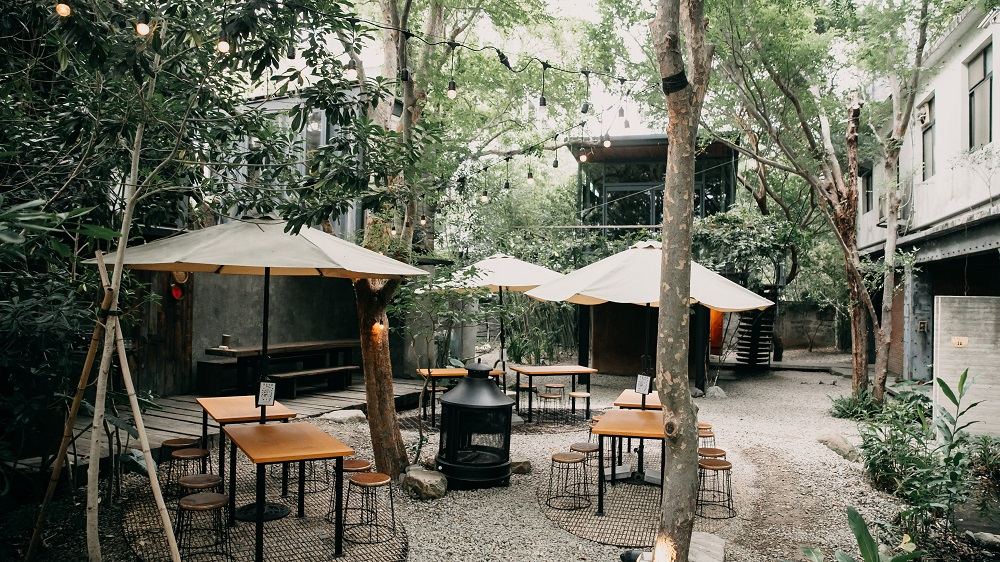 座位區/東厚食Cafe/森林咖啡/美食/新竹/台灣