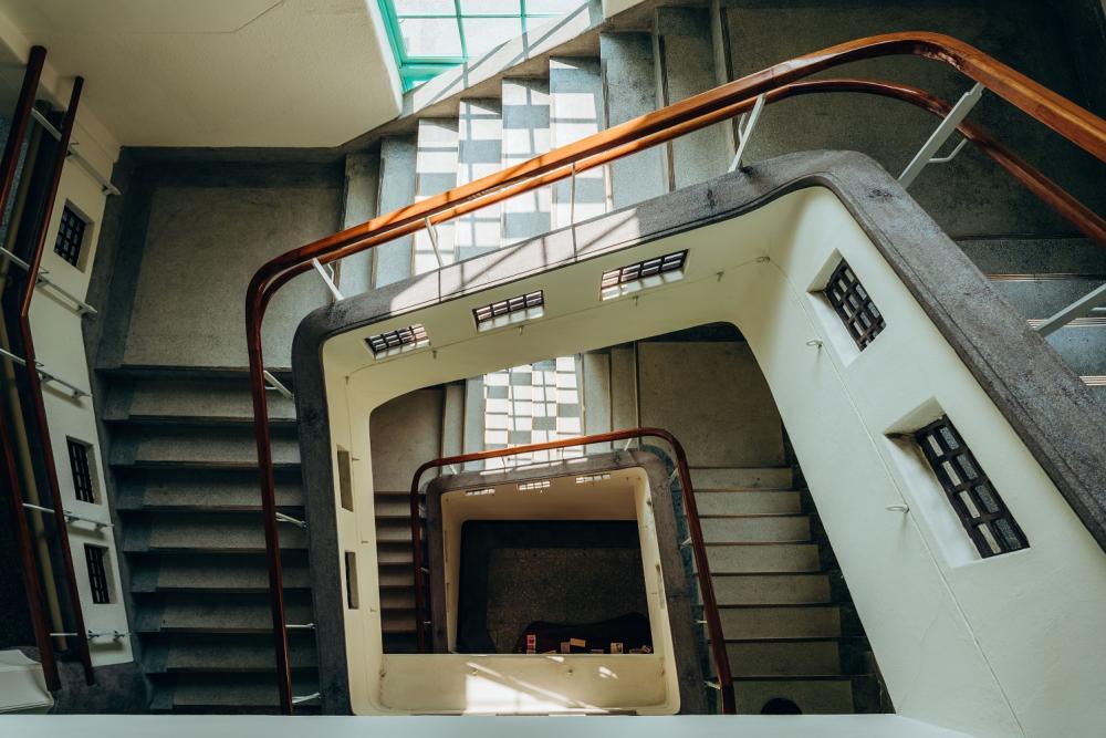 樓梯/市立美術館/美術空間/嘉義/台灣