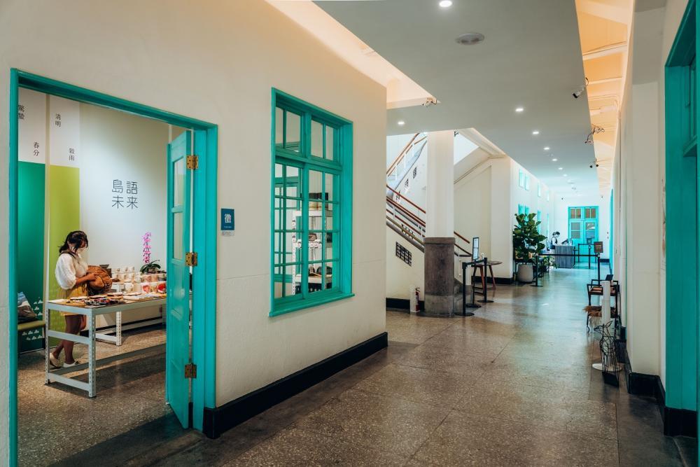 走廊/市立美術館/美術空間/嘉義/台灣