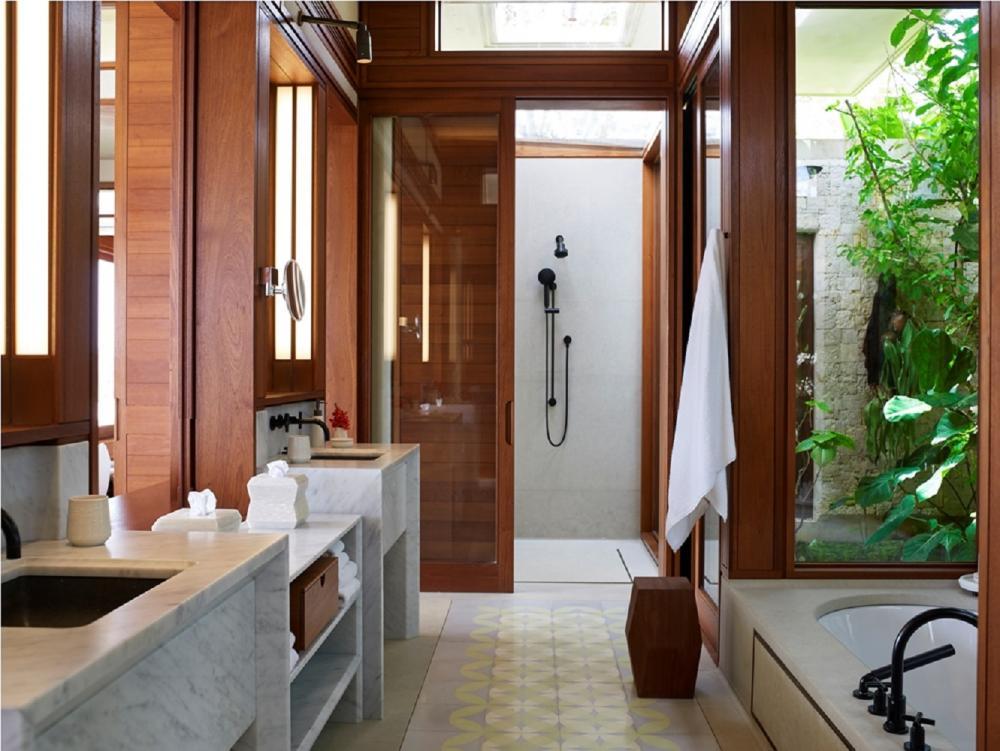 浴室/Aman/飯店/北海岸岬灣/多明尼加