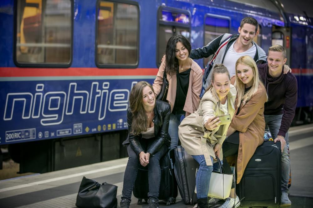 地鐵/ÖBB Nightjet/臥鋪列車/奧地利