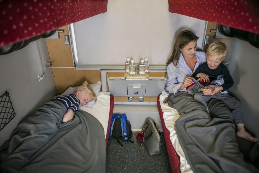 車廂座位/ÖBB Nightjet/臥鋪列車/奧地利