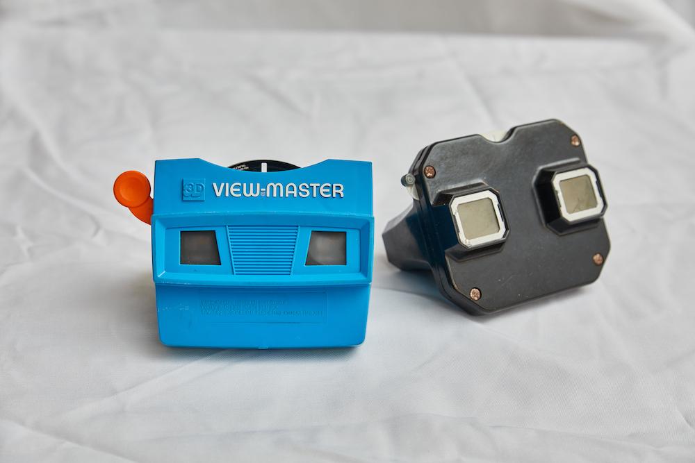 View-Master 3D 幻燈片機/復古玩具/Chicaca Store/麥當勞玩具店/台北/台