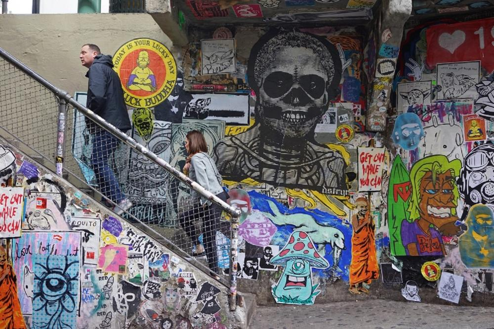 街頭塗鴉/城市街景/西雅圖/美國