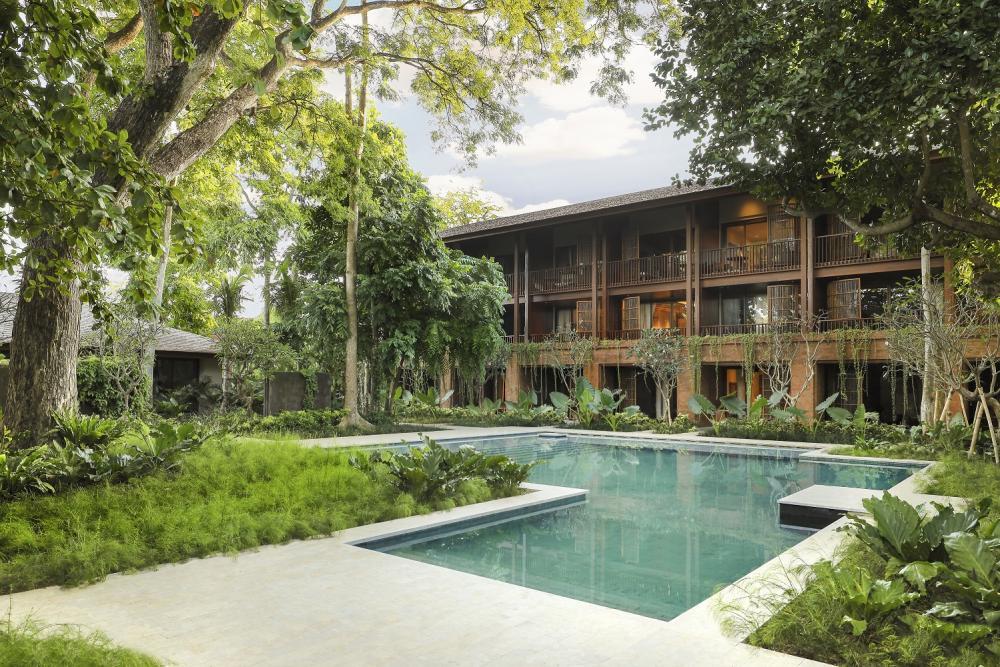 游泳池/Andaz Bali/原始風光/渡假飯店/峇里島