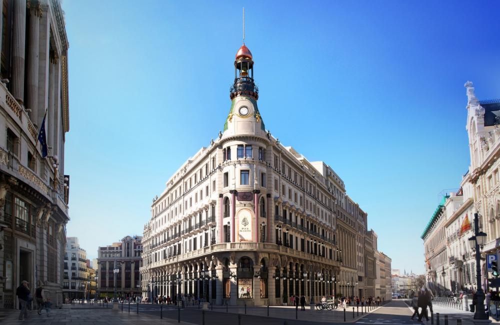 外觀/四季酒店/馬德里/西班牙