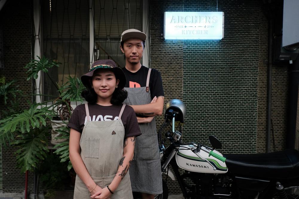 創辦人/Archers Kitchen弓箭手/老宅改造/嘉義/台灣
