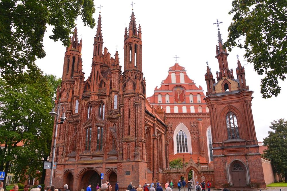 巴洛克式建築/維爾紐斯/立陶宛/波羅的海三國