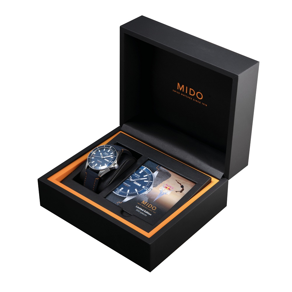 MIDO美度表/紅牛懸崖跳水賽/腕錶/台灣