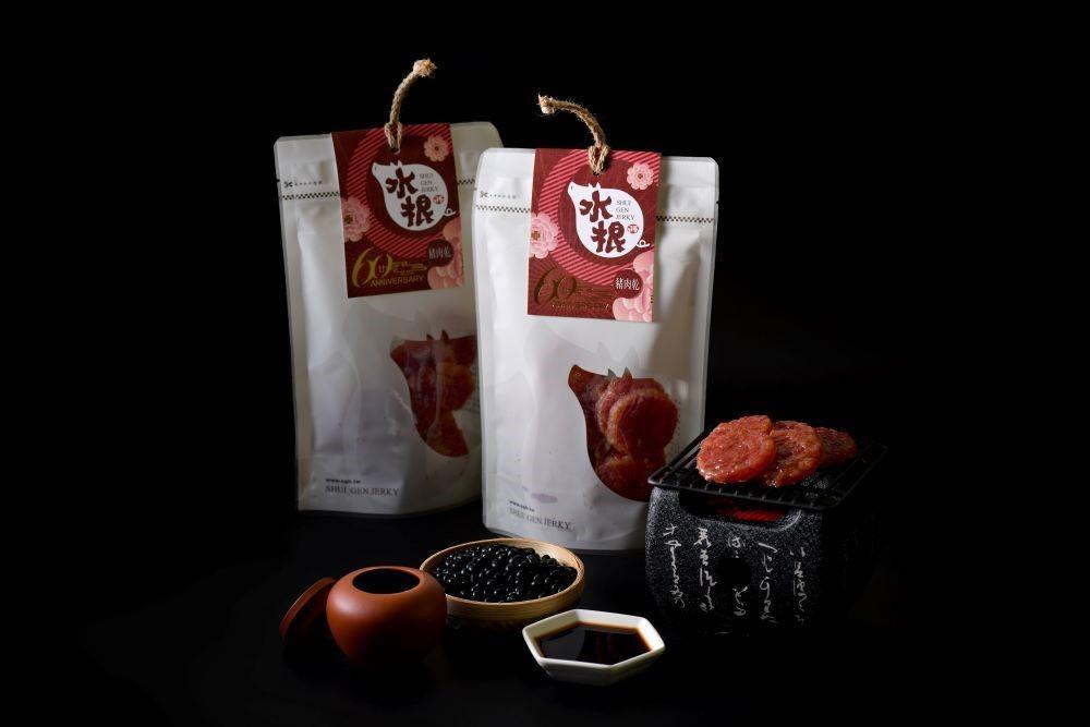 包裝/台味醬燒/新和春醬油/水根肉乾/彰化/台灣