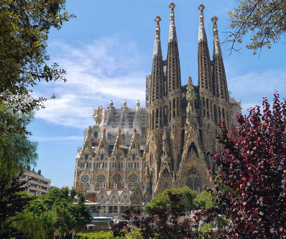 聖家堂/線上旅遊/巴塞隆納/西班牙