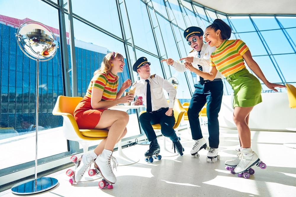 環球航空旅館(TWA Hotel)/甘迺迪機場/直排輪活動/紐約/美國