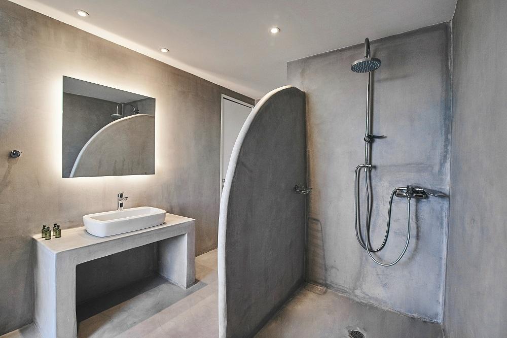 浴室/空間/Nature Eco Residences/旅宿/阿克羅蒂里/希臘/愛琴海