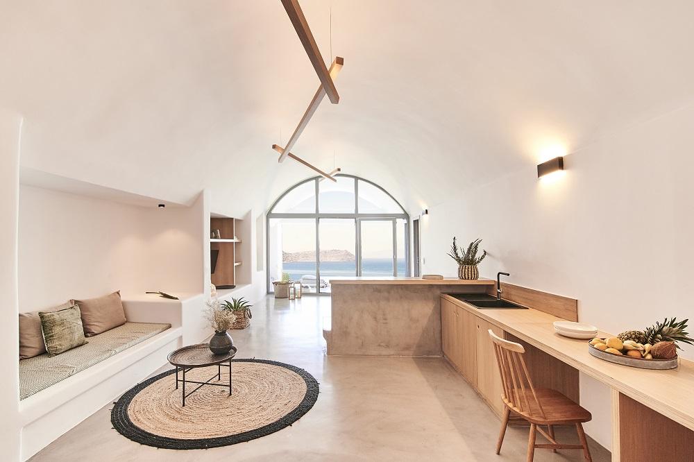 套房/空間/Nature Eco Residences/旅宿/阿克羅蒂里/希臘/愛琴海