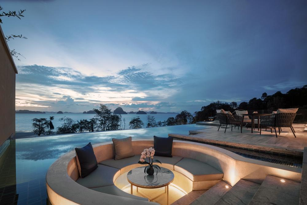 游泳池/喀比悅榕莊酒店/度假酒店/安達曼海/泰國