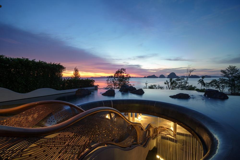 SPA 泳池/喀比悅榕莊酒店/度假酒店/安達曼海/泰國
