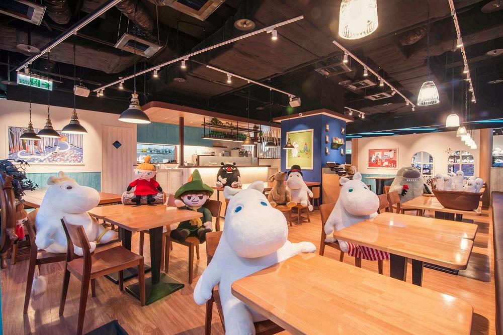 內部空間/Moomin Café 嚕嚕米主題餐廳/美食/台北/台灣