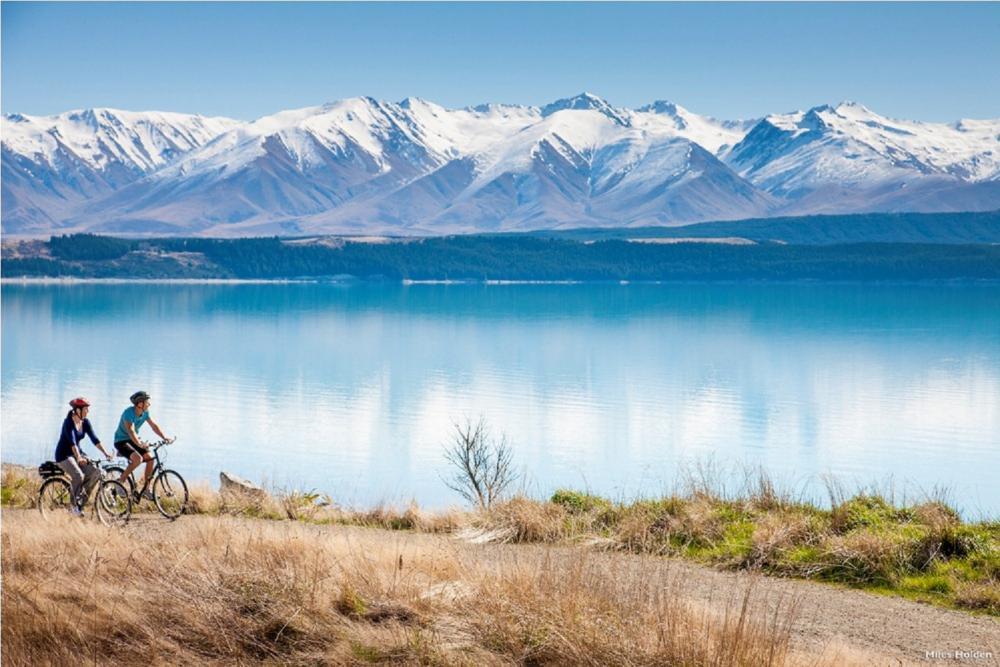 自行車道/湖畔風景/南島/紐西蘭