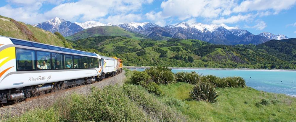 太平洋海岸號/奢華列車/皮克頓/南島/紐西蘭