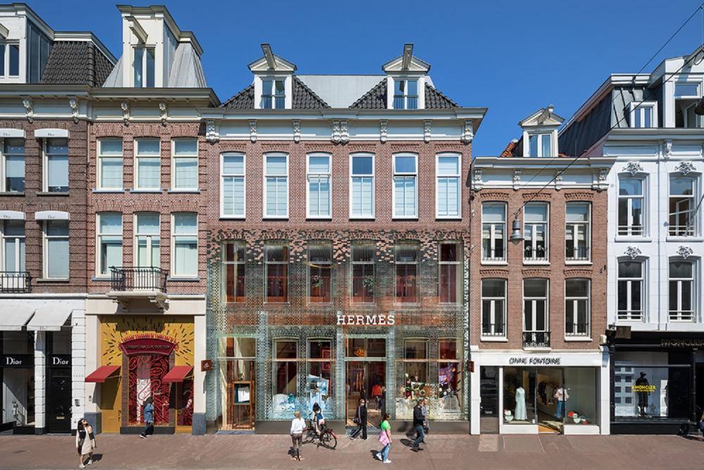 外觀/玻璃城堡/精品街/阿姆斯特丹/荷蘭