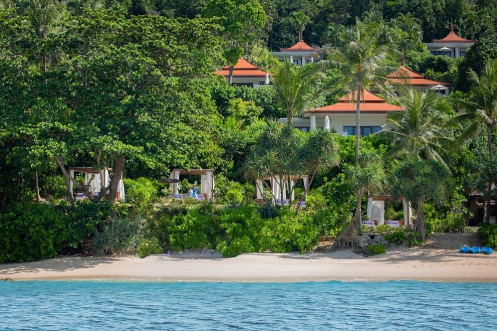 外觀/海灘風景/Trisara/私人海島/普吉島/泰國