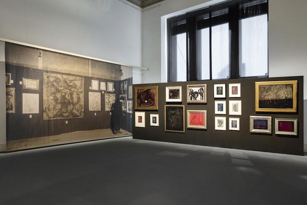 "Matsumoto Shows, 1952"", 2021, Gropius Bau/展品/草間彌生回"