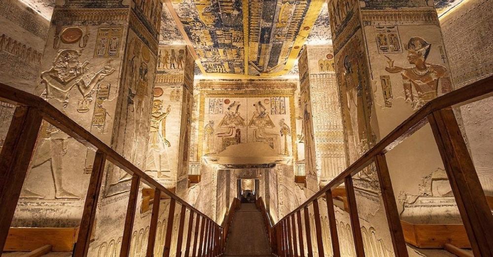 Pharaoh Ramesses VI's tomb/拉美西斯六世/法老王陵墓/埃及
