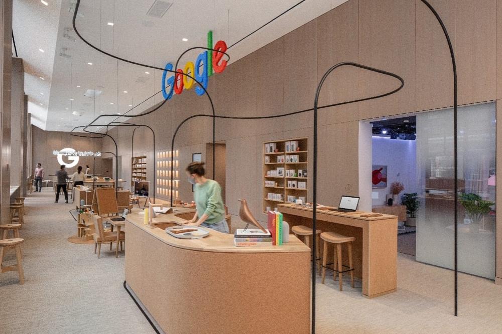 內部空間/Google Store Chelsea/實體商店/紐約/美國