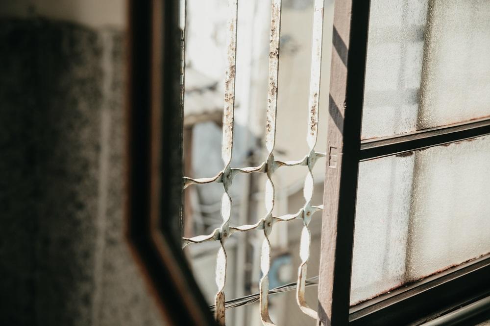 鐵花窗/老房子/建築/台灣