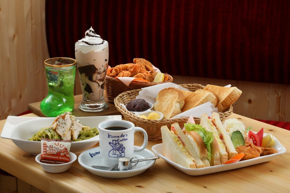 料理/客美多咖啡KOMEDA's Coffee/台中公益店/台中/台灣