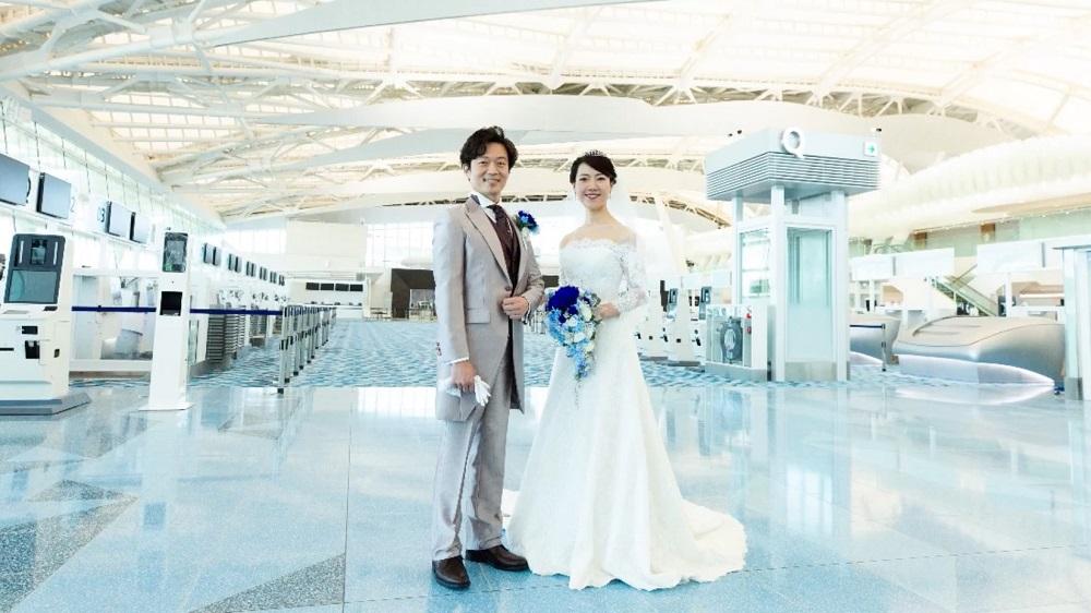 ANA/機場/婚禮/日本