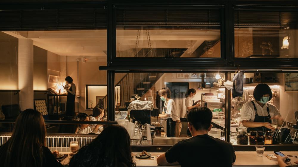 咖啡廳/銀座聚場/咖啡店/高雄/台灣