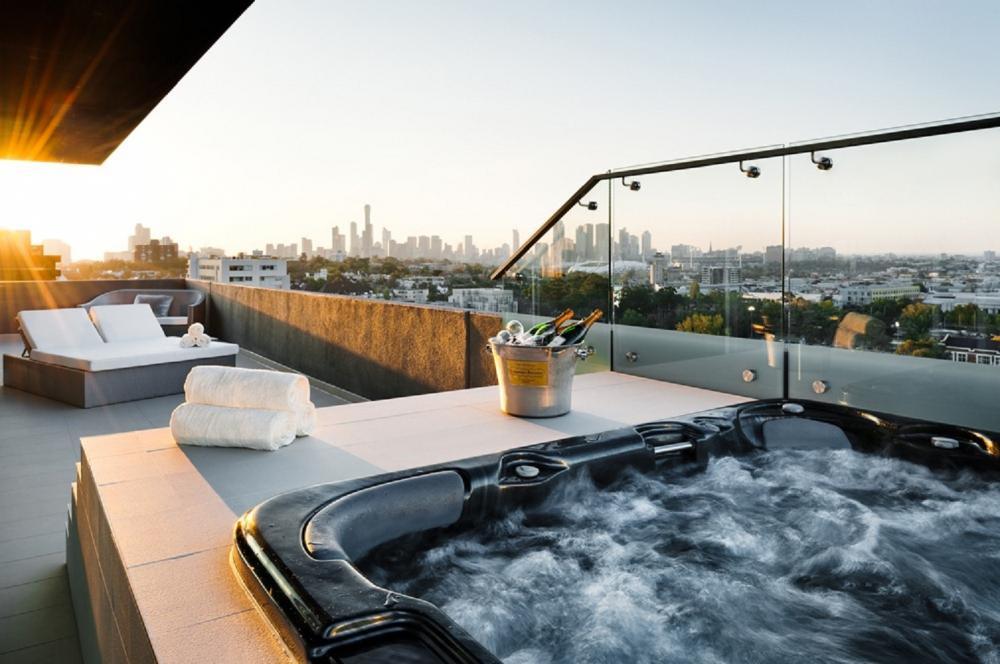 游泳池/ The Olsen/藝術旅宿/墨爾本/澳洲