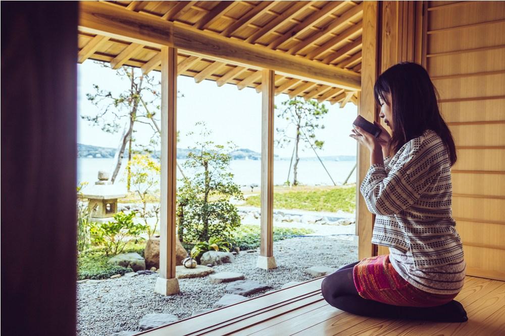 茶室體驗/加賀屋別邸 松乃碧/能登半島/日本/奢華旅宿