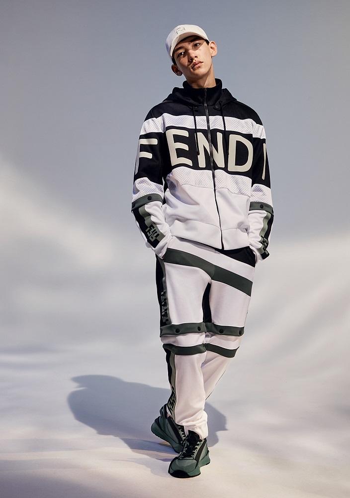 FENDI/運動服/2021春季新款/台灣