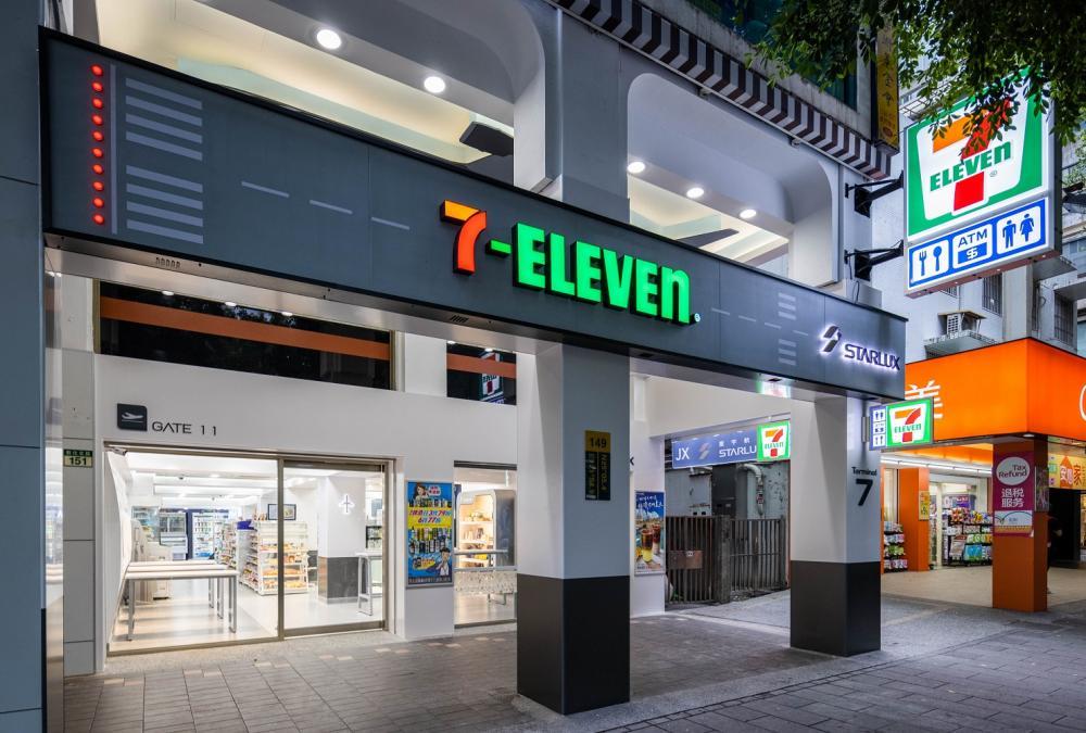 店外/7-ELEVEN/星宇航空/聯名概念門市/台北/台灣