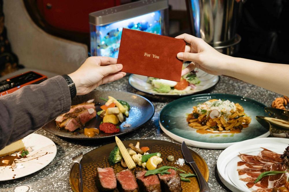 雙人套餐/誠品生活/麗芳老樓/情人節套餐/台灣