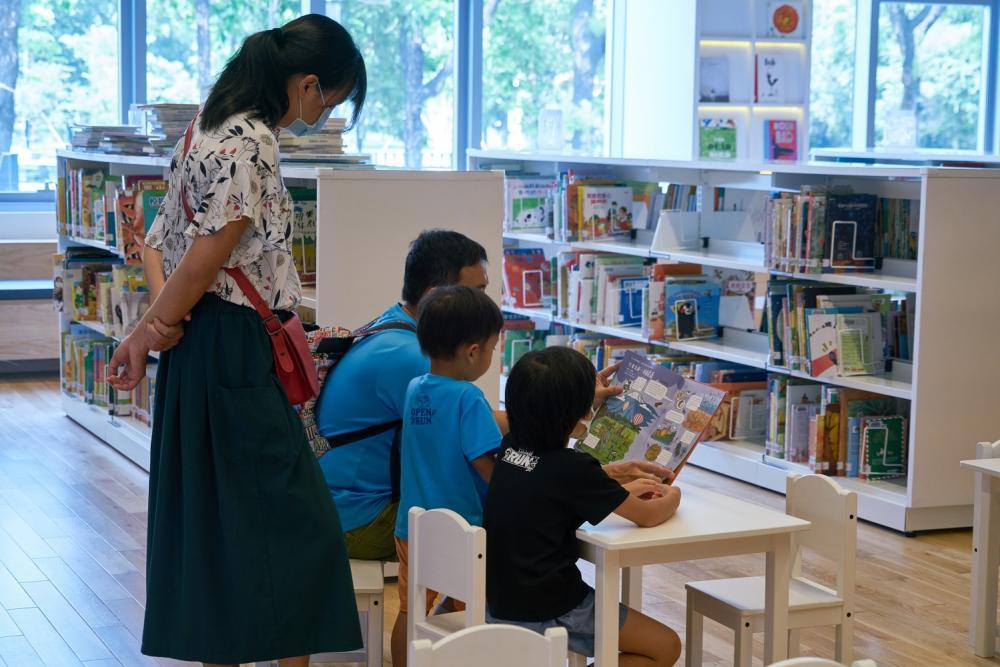 兒童閱讀區/屏東縣立圖書館/森林系圖書館/屏東/台灣