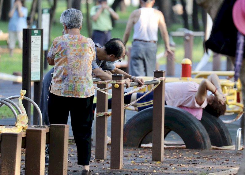 公園設施仍維持三級警戒延長/疫情/台灣