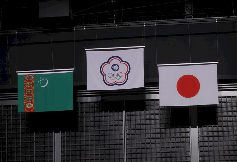 會旗/東京奧運/中央社/日本