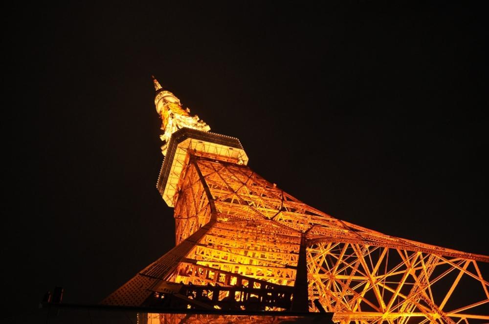 夜景/東京鐵塔/東京/日本
