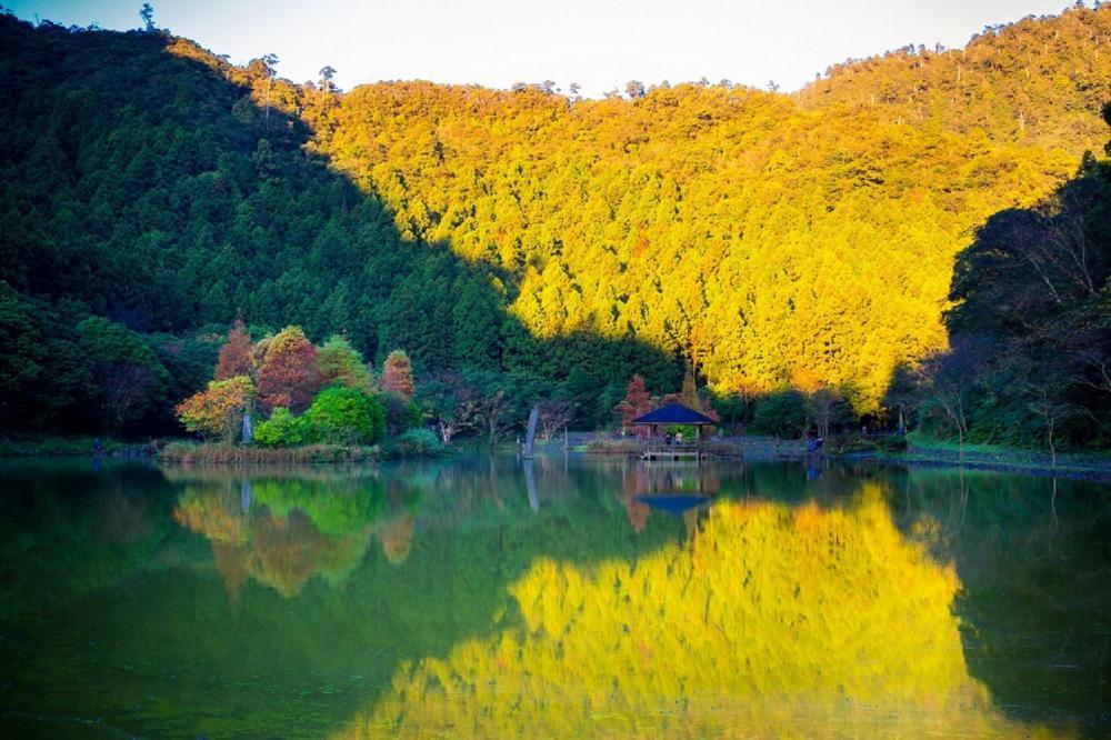 湖邊風景/力麗馬告生態園區/宜蘭/台灣