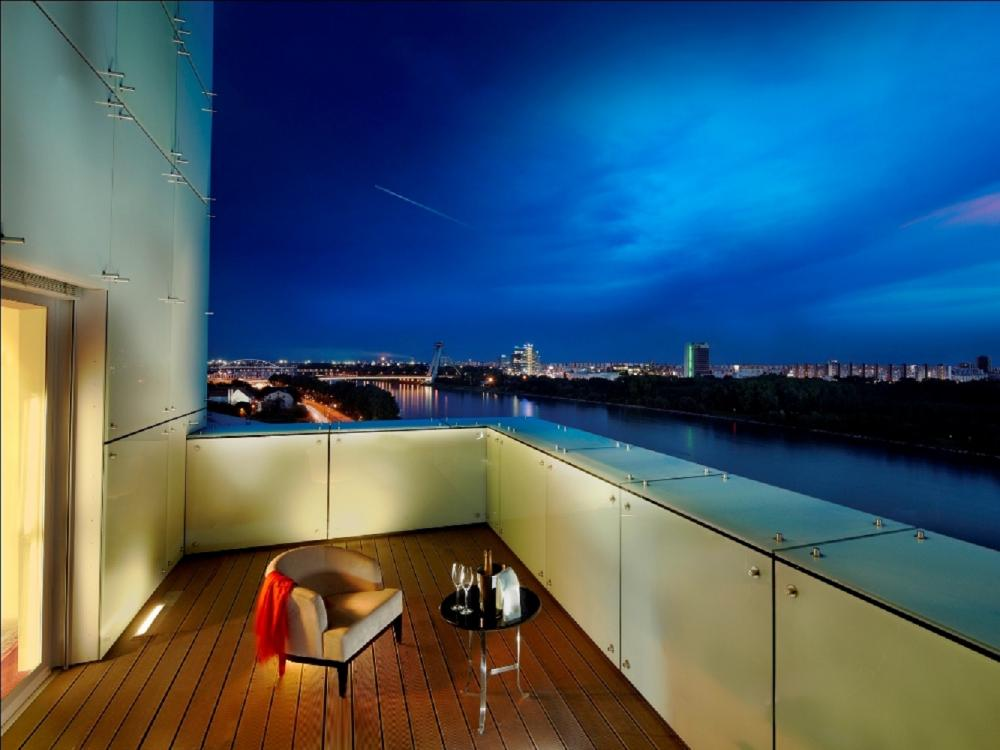陽台/Kempinski Hotel River Park/多瑙河/斯洛伐克/歐洲