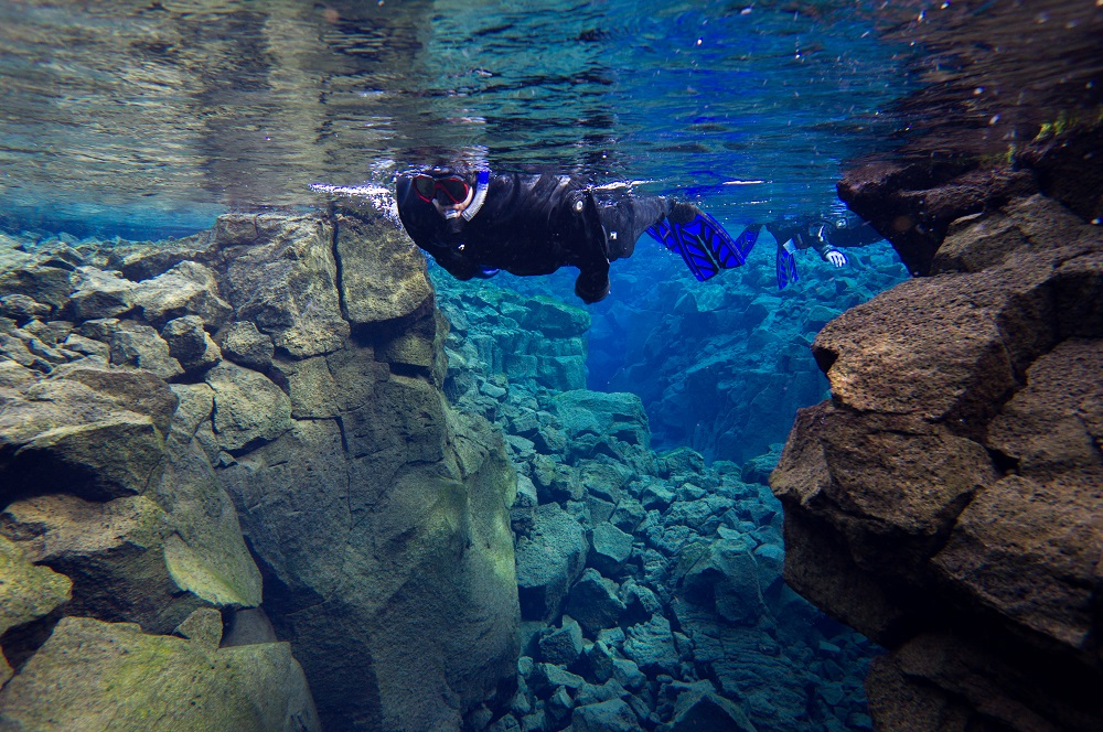 潛水/Snorkel in Silfra/Airbnb /冰島