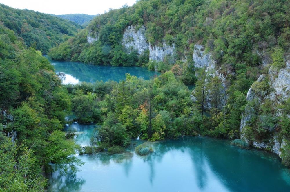 湖/普列提維切湖國家公園/旅遊/克羅埃西亞