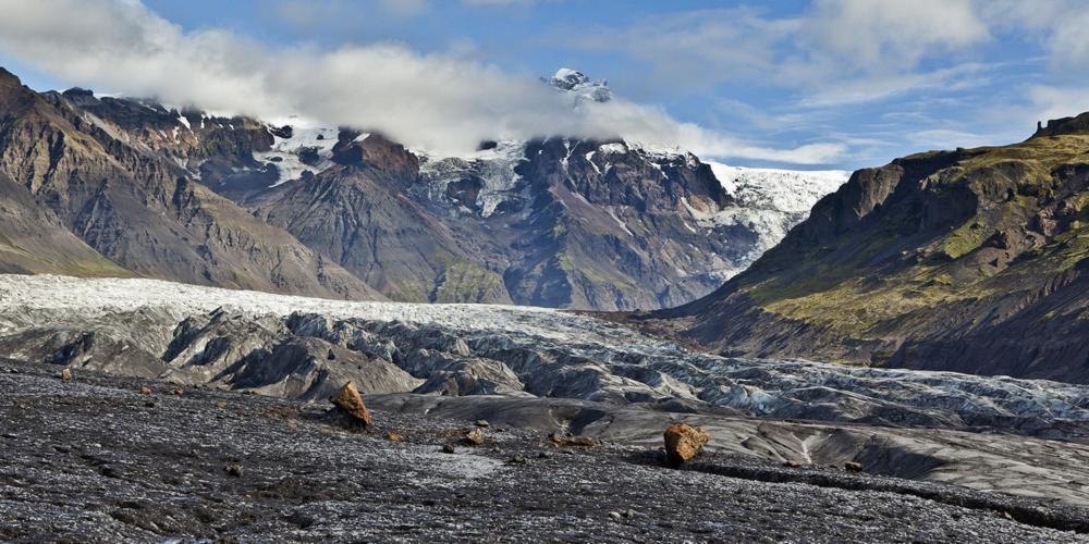 風景/Vatnajökull/冰河國家公園/旅遊/冰島