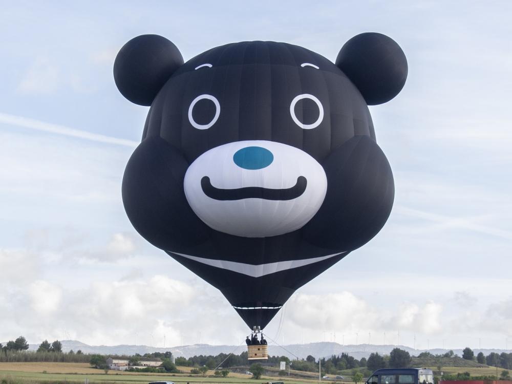 熊讚熱氣球/雙城合作/台北觀傳局/台北/台東/台灣