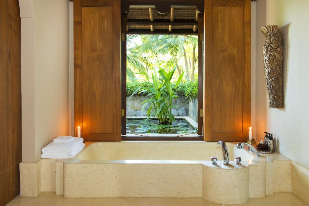 客房浴室/Aman Amankila/住宿/峇里島